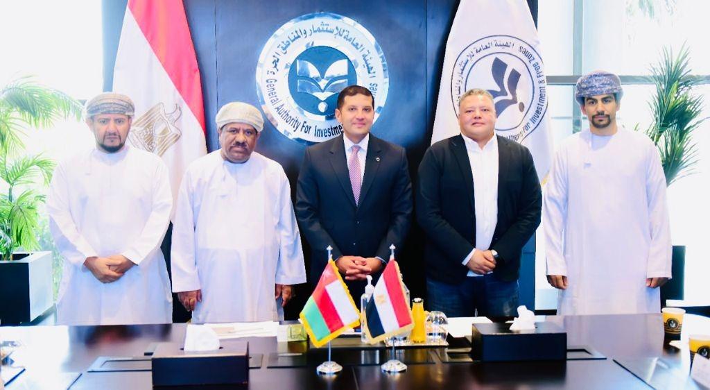 محمد عبدالوهاب لقاءات مكثفة مع مجموعة من رجال الأعمال العمانيين لعرض الفرص الاستثمارية| صور
