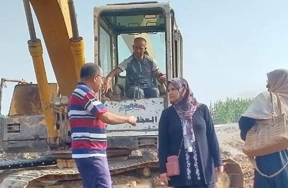 البدء في إنشاء مركز شباب جديد بقرية كفر منصور بالمنوفية ضمن أعمال  حياة كريمة  | صور