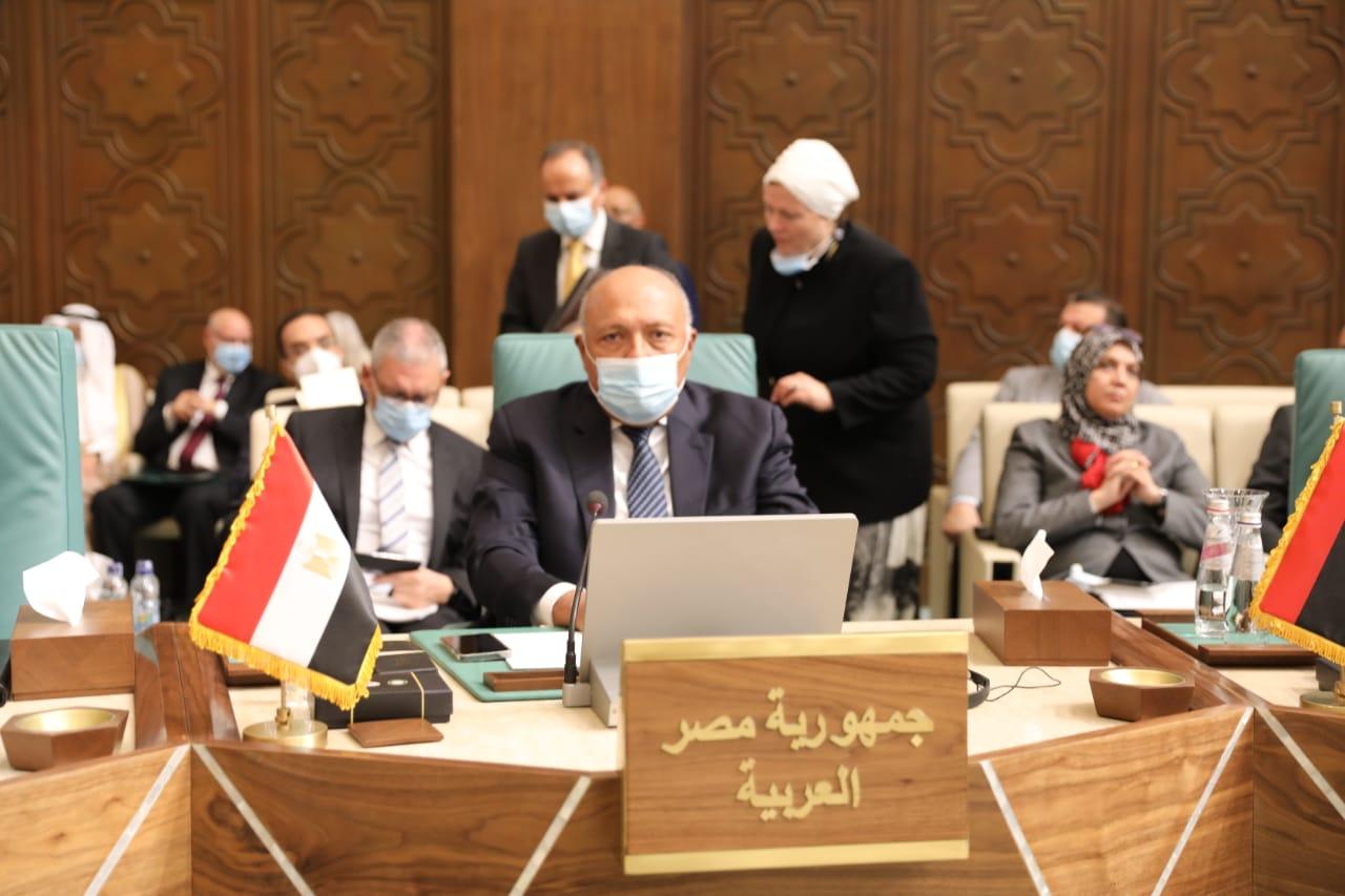 سامح شكري مصر مستمرة في مساندة جهد كل دولة عربية للحفاظ على وحدتها واستقلالها