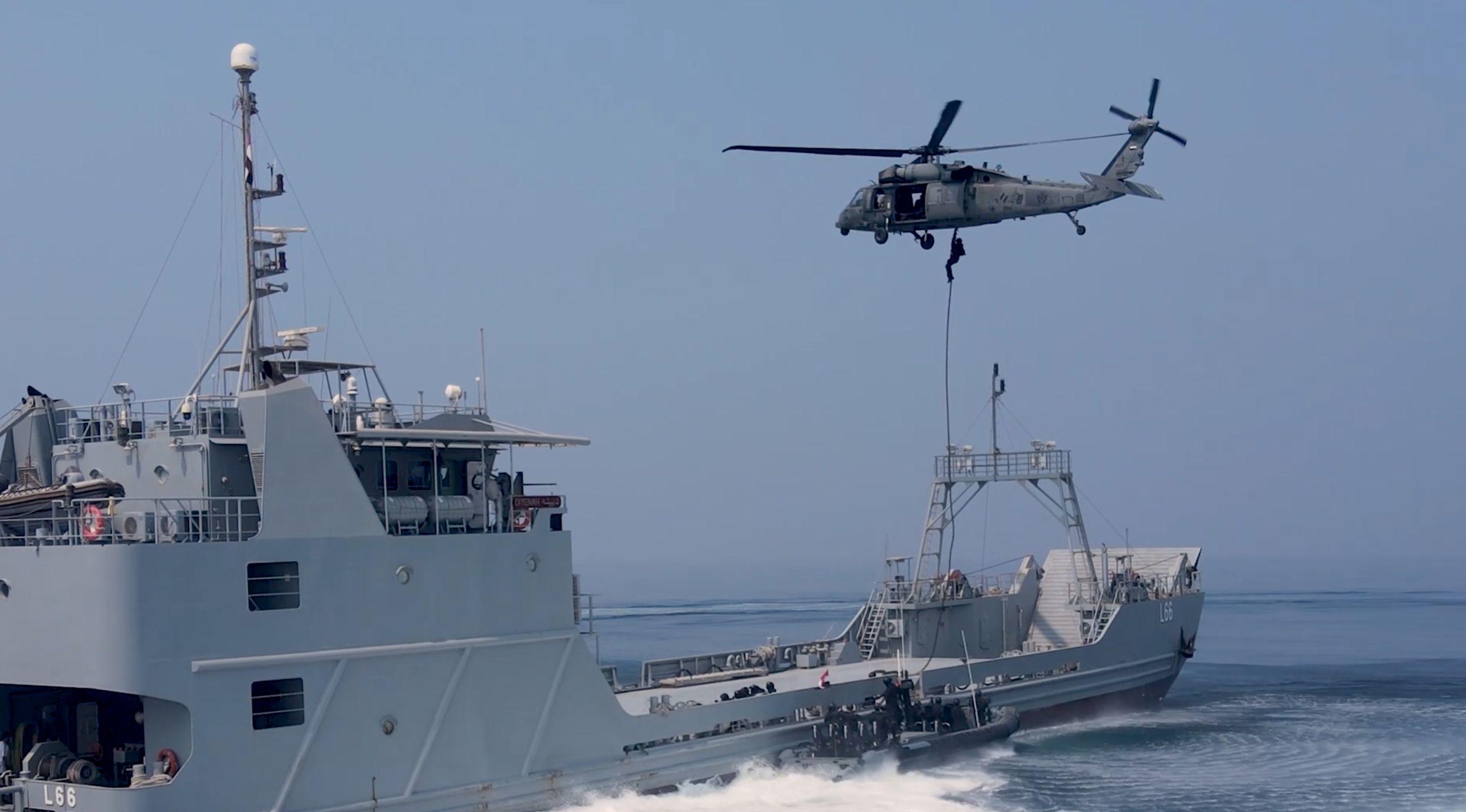 بمشاركة البحرية والقوات الخاصة ختام التدريب البحرى المصري  الإماراتي المشترك زايد