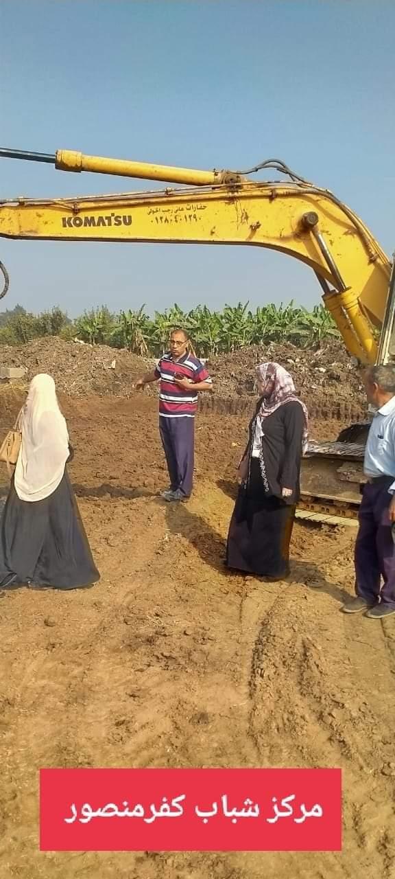 إنشاء مركز شباب جديد بقرية كفر منصور