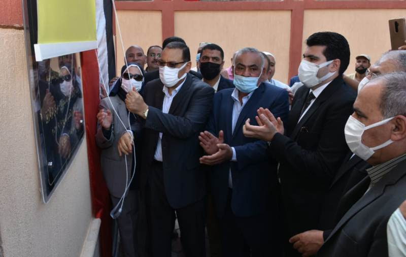 افتتاح مبنى الوحدة البيطرية بتل حوين بتكلفة مليون جنيه بالشرقية