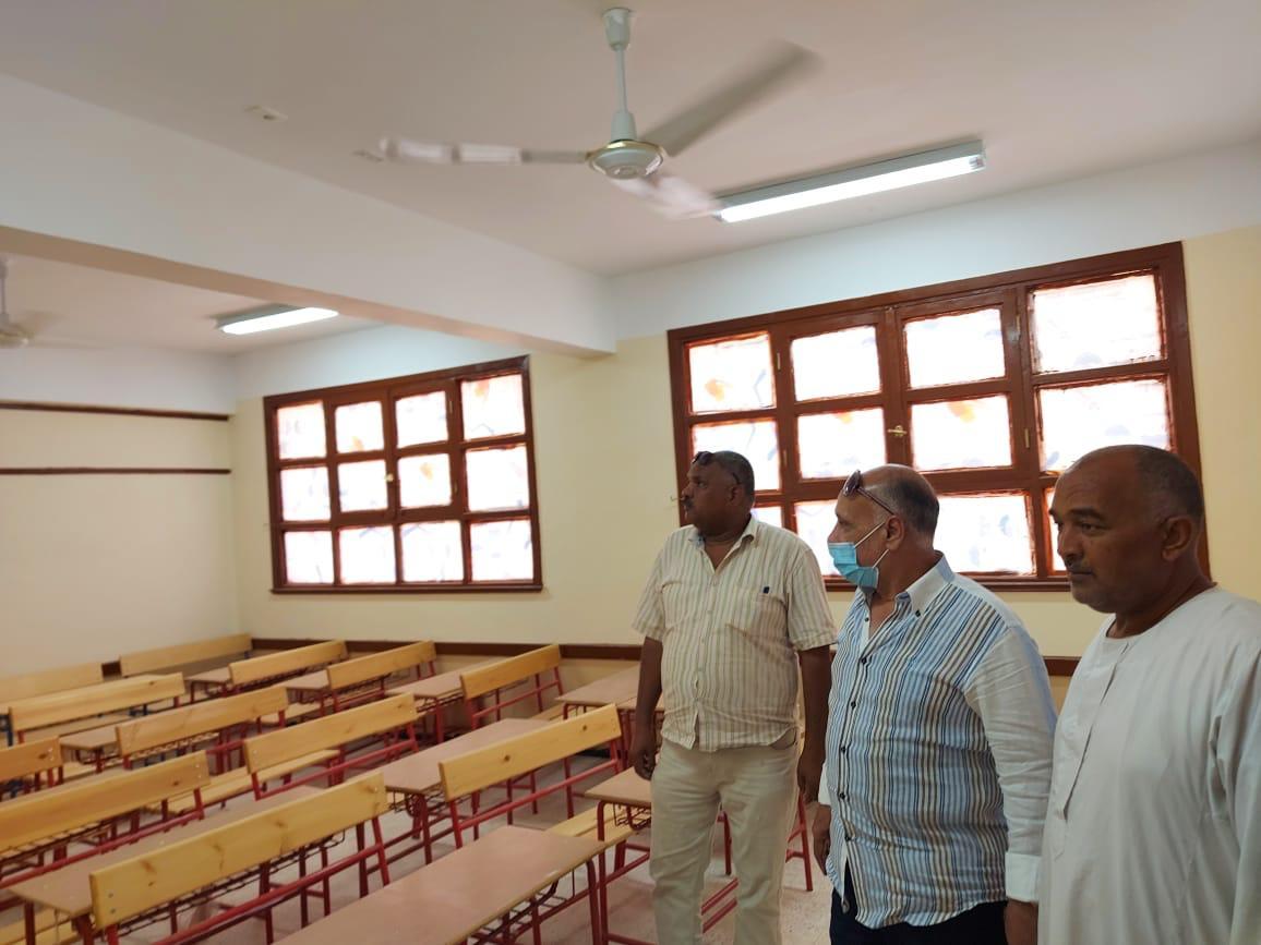 الانتهاء من إنشاء مدرسة توماس الوسطى بمدينة إسنا في الأقصر