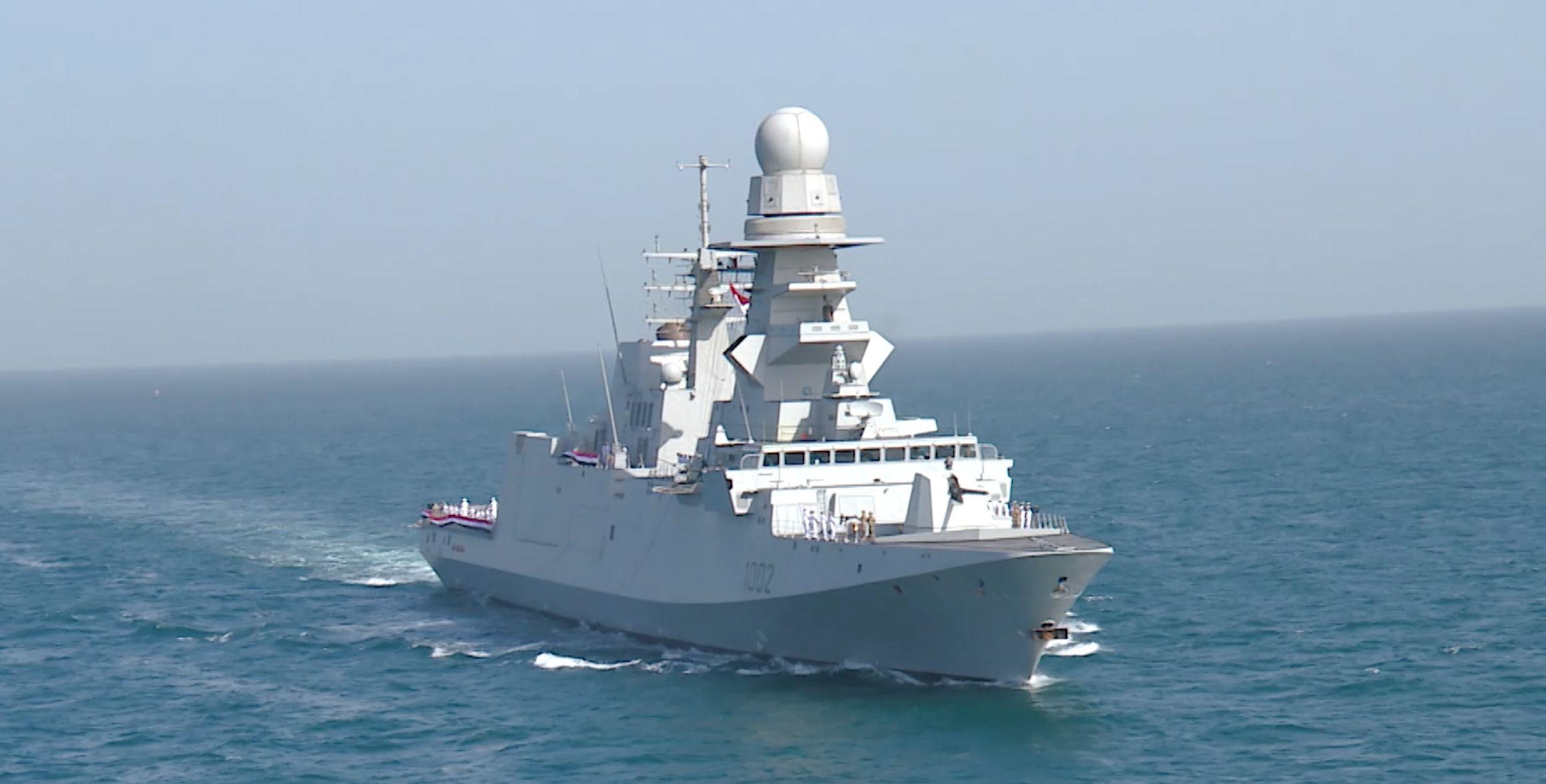 فعاليات التدريب البحرى المصرى الإماراتى المشترك (زايد - 3)