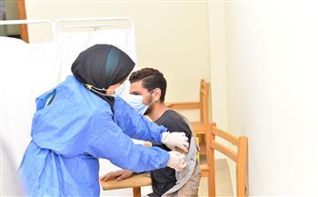 جامعة-كفر-الشيخ-تواصل-تطعيم-طلابها-ضد-فيروس-كورونا- -صور--