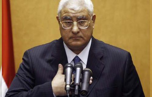 قضية اليوم يكتبها : أحمد البرى .. الرئيس عدلى منصور