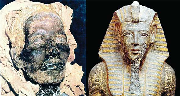 بين الأكتشافات والعقائد السؤال لا يزال مطروحا فرعون موسى من هو الأهرام اليومي
