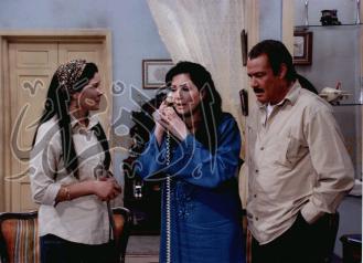 فاروق الفيشاوى فى مشهد من مسلسل اولاد الحلال .